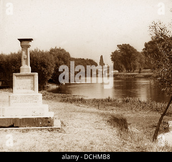 Staines The London Stone Victorian period - Stock Photo