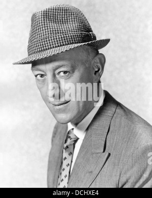 ALEC GUINNESS 1914-2000) English stage and film actor about 1950 - Stock Photo