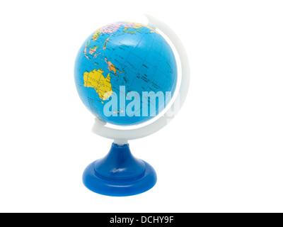 School Globe,  isolated background - Stock Photo