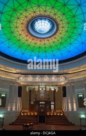 Dome of the City Hall auditorium, Brisbane, Queensland - Stock Photo