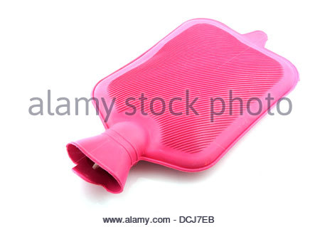 warm water bag - Stock Photo