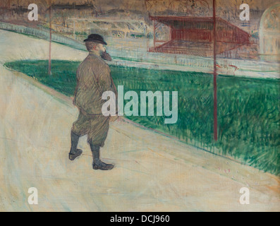 19th century  -  Tristan Bernard - Henri de Toulouse-Lautrec (1895) - Metropolitan Museum of Art - New York Oil - Stock Photo