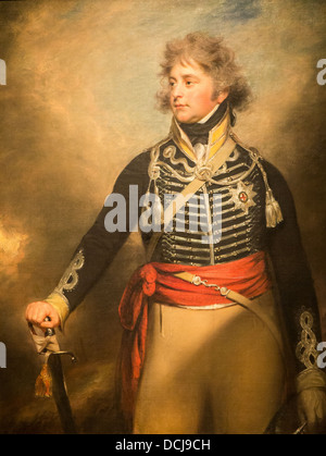 George IV (1762–1830), When Prince of Wales - Sir William Beechey (1798) - Metropolitan Museum of Art - New York - Stock Photo