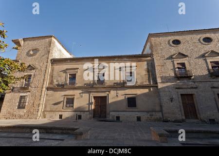 parte trasera del Ayuntamiento de Ubeda - Stock Photo
