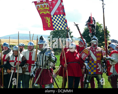 500th anniversary of the Battle of Flodden,Flodden Field,Etal,County of Northumberland,near Ford castle,England,Great - Stock Photo