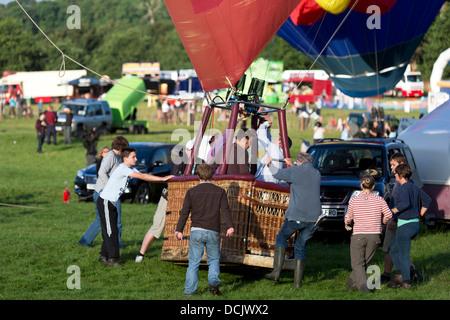 35th Bristol International Balloon Fiesta. Bristol, England, UK.