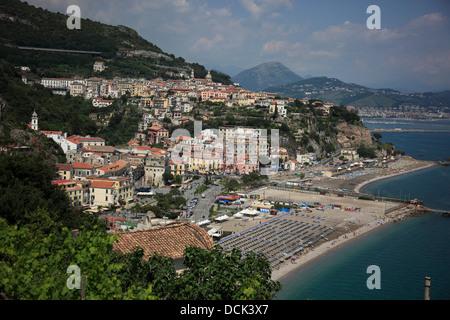 Vietri sul Mare, Campania, Italy, on the Amalfi Coast Cetara - Stock Photo