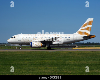 G-EUPG British Airways Airbus A319-131 - cn 1222 taxiing 21july2013 pic-007 - Stock Photo