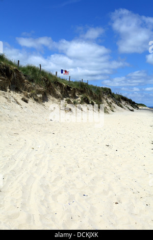 Utah Beach today, Operation Overlord, Normandy, France. D-Day - Stock Photo
