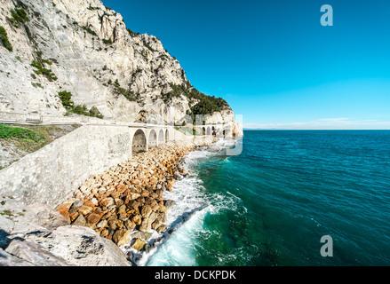 Finale Ligure seaside - Stock Photo