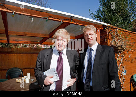 "Archive Pic: 20th August 2013: Boris Johnson has suggested that it is ""very likely"" that his brother will become - Stock Photo"