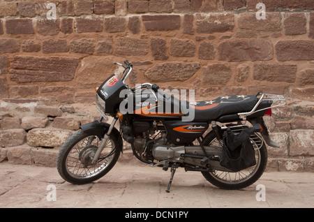 Honda Hero Motorbike -  Jodhpur, India - Stock Photo