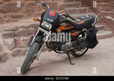 Honda Hero Motorbike -  Jodhpur, India - Stock Photo