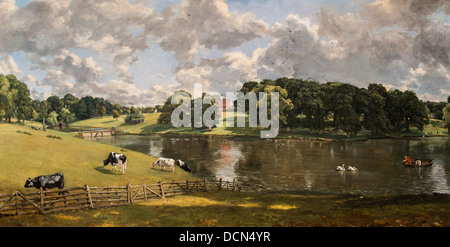 19th century  -  Wivenhoe Park, Essex, 1816 - John Constable Philippe Sauvan-Magnet / Active Museum - Stock Photo