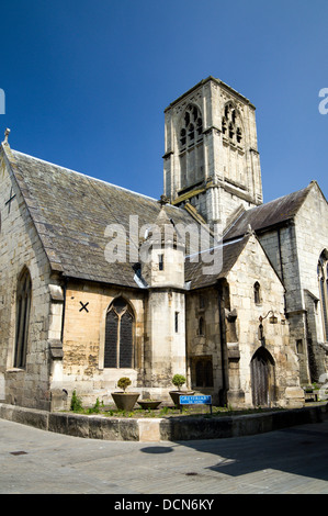 St Mary de Crypt Church, Southgate Street, Gloucester, Gloucestershire, England. - Stock Photo