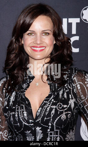 Carla Gugino After Party for Montblanc Presents The 10th Annual production of 'The 24 Hour Plays On Broadway' held - Stock Photo
