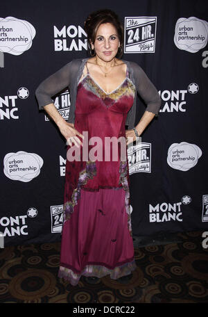 Kathy Najimy After Party for Montblanc Presents The 10th Annual production of 'The 24 Hour Plays On Broadway' held - Stock Photo