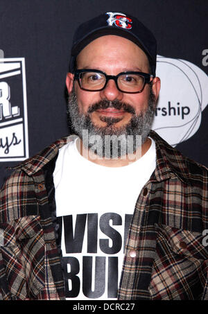 David Cross After Party for Montblanc Presents The 10th Annual production of 'The 24 Hour Plays On Broadway' held - Stock Photo