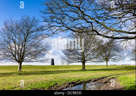 Monument, Westwood, Beverley, Yorkshire, UK. - Stock Photo