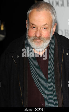 Mike Leigh   The 57th Evening Standard Theatre Awards at The Savoy Hotel - Arrivals  London, England - 20.11.11 - Stock Photo