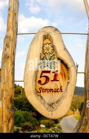 Stronach, Austria, Tyrol, Eastern Tyrol, Iselsberg - Stock Photo
