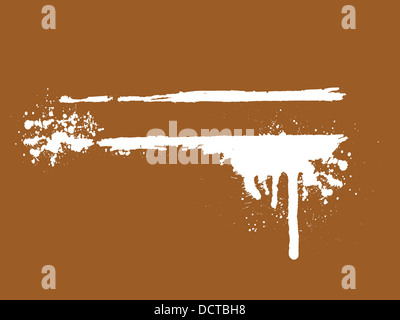grunge style for text - Stock Photo
