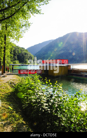 boat, Slovenia, Northern Slovenia, Soca - Stock Photo