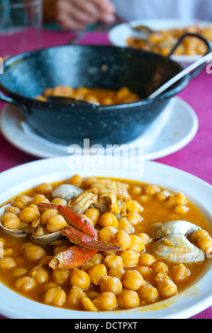 Cooking asturian bean stew stock photo royalty free image for Asturian cuisine