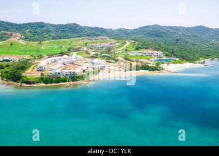 Pristine Bay, and Los Verandas waterfront resort under development - Stock Photo
