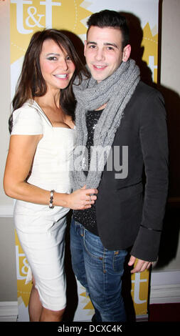 Lizzie Cundy and Jay Camilleri  Today and Tomorrow Fundraising Charity Fashion Show at The Mostyn Hotel London, - Stock Photo