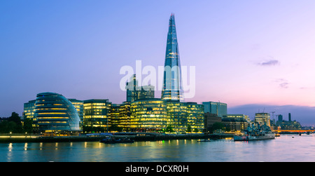 London, The Shard London Bridge - Stock Photo