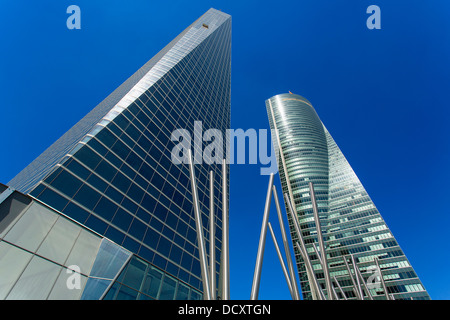 Madrid, Financial District - Stock Photo
