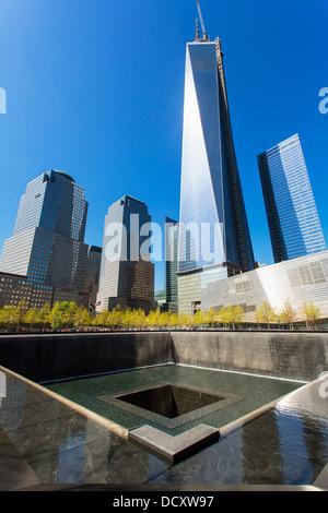 New York City, Ground Zero - Stock Photo