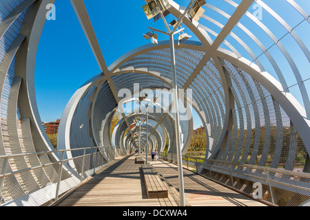 Madrid, Puente Monumental de Arganzuela - Stock Photo