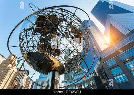 New York City, Columbus Circle - Stock Photo