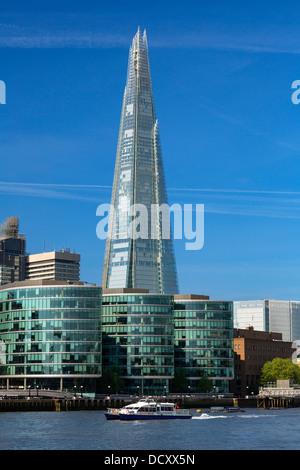 London, The Shard London Bridge - Stock Photo
