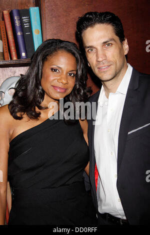 Audra McDonald and Will Swenson Broadway opening night after party for 'The Gershwins' Porgy and Bess' held at the - Stock Photo