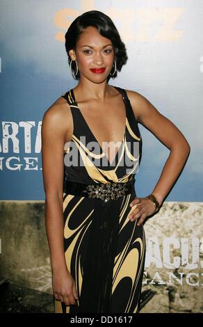 Cynthia Addai-Robinson Premiere of Starz' 'Spartacus: Vengeance'  held at the ArcLight Cinemas Cinerama Dome Los - Stock Photo