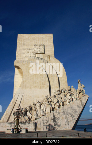 Portugal, Estremadura, Monument to the Discoveries. - Stock Photo