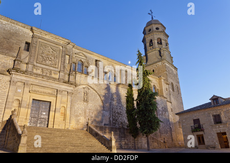 jaen, andalucia, spain, sunset, mozarab, - Stock Photo