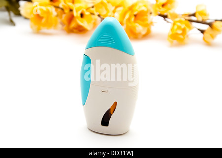 Nasal Spray on white background - Stock Photo
