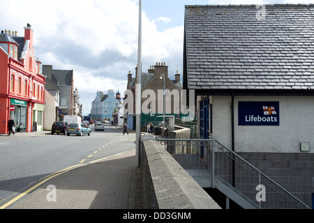 RNLI  Lifeboat shop at Stornoway town centre Isle of Lewis Western Isles Scotland UK - Stock Photo