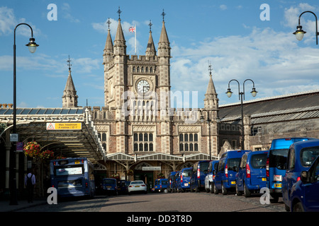 Bristol Temple Meads Station, Bristol, England UK - Stock Photo