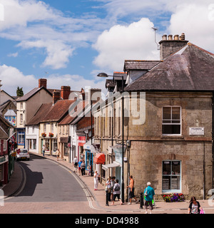 Shaftesbury , Dorset , England , Britain , Uk - Stock Photo
