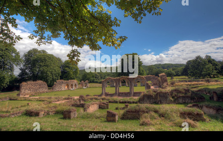 Hailes Cistercian Abbey, Cheltenham, Gloucestershire, England, GL54 5PB - Stock Photo