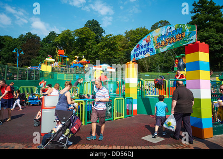 Entrance To Drench Towers & Splash Safari Opened in 2013 Legoland Windsor UK - Stock Photo