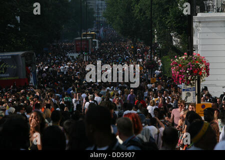 London, UK. 26th Aug, 2013. Scenes from the Notting Hill Carnival 2013 Credit:  Mario Mitsis / Alamy Live News - Stock Photo