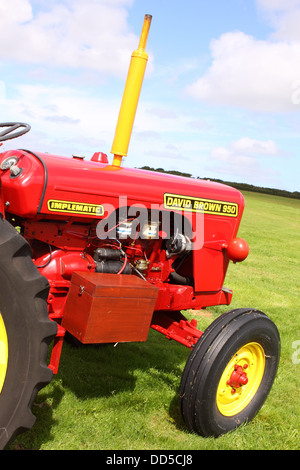 David Brown 950 Implematic vintage tractor built from 1959 to 1962 - Stock Photo