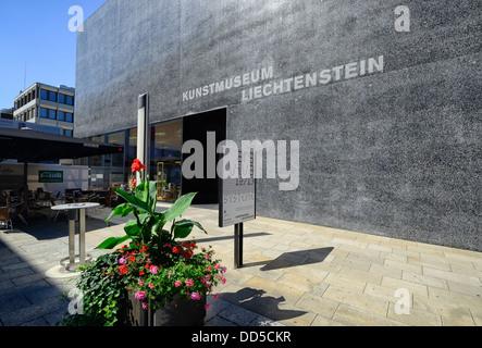 Art Museum, Vaduz, Liechtenstein, Europe - Stock Photo