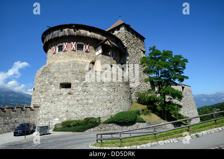 Vaduz Castle, Vaduz, Liechtenstein, Europe - Stock Photo